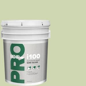 Behr Pro 5 Gal M360 3 Avocado Whip Semi Gloss Interior Paint Pr17005 The Home Depot