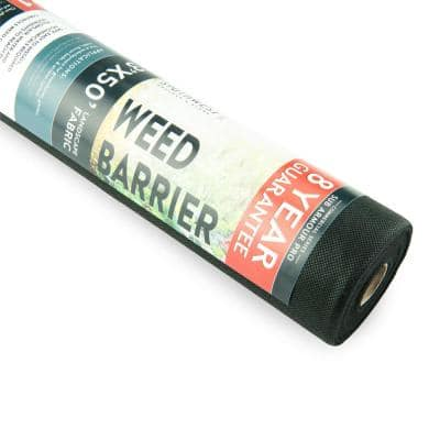 3 ft. x 50 ft. of 8-Year Guarantee Heavy-Duty, Professional Grade Weed Barrier