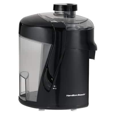 HealthSmart 400-Watt 12 oz. Black Centrifugal Juice Extractor