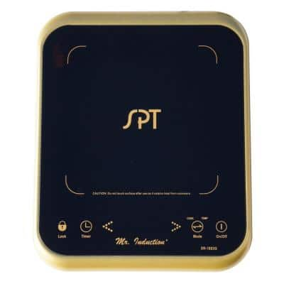 11.25 in. Ceramic Surface Induction Cooktop in Gold with 1 Element