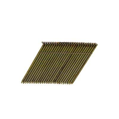 3-1/4 in. x 0.120 in. Wire Collated Steel Framing Nails (2,000 per Box)