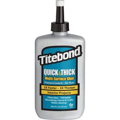 8 oz. Quick and Thick Multi-Surface Glue (12-Pack)