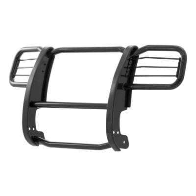 1-1/2-Inch Black Steel Grille Guard, No-Drill, Select Jeep Liberty