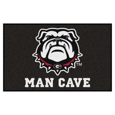 NCAA - University of Georgia 5 ft. x 8 ft. Man Cave UltiMat Indoor Area Rug