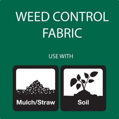 3 ft. x 100 ft. WeedBlock Weed Barrier Landscape Fabric with Microfunnels