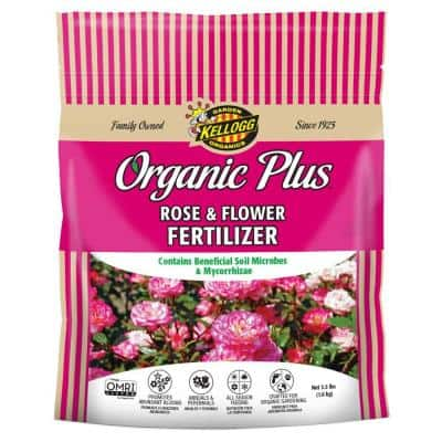 3.5 lb. Organic Rose and Flower Fertilizer