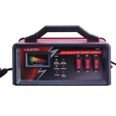 2/6 Amp 6/12-Volt Manual Battery Charger