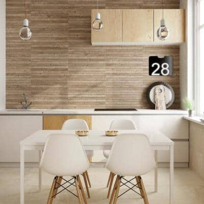 Vancouver 25 in. x 13 in. Honey Glazed Porcelain Decorative Wall Tile (10.76 sq. ft. / case)