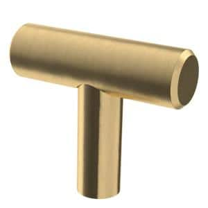 1-9/16 in. (40 mm) Champagne Bronze Bar Cabinet Knob