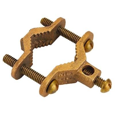 1/2 in.- 3/4 in. CSST System Brass Bonding Clamp