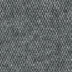 Century Color Gray Wood Pattern 6 ft. x Your Choice Length Carpet