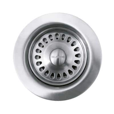 3.5 in. Decorative Basket Strainer in Stainless