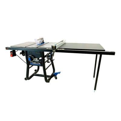 5000 Series 10 in. Table Saw with 52 in. Rip Capacity and Cast Extension Wings