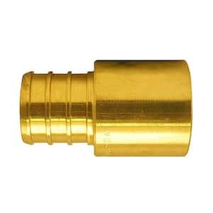 3/4 in. Brass PEX Barb x Male Copper Sweat Adapter