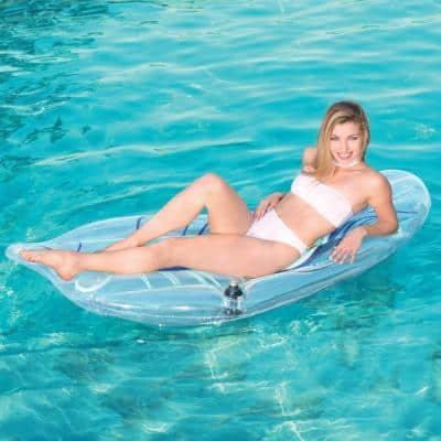 Peacock Feather Lounge Pool Float (1-Pack)