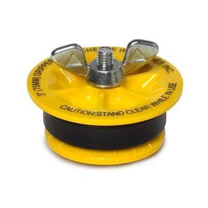 Gripper 3 in. ABS Plastic Mechanical Test Plug