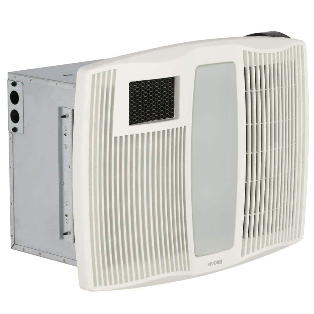 Broan Nutone Qt Series 110 Cfm Ceiling, Bathroom Exhaust Fan Heater Combination