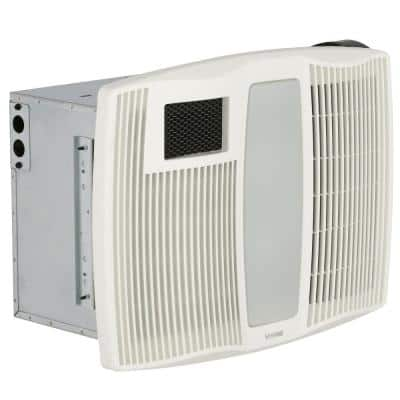 QT Series 110 CFM Ceiling Bathroom Heater Exhaust Fan with Light and Nightlight