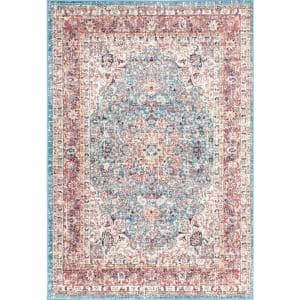 Verona Vintage Persian Red 4 ft. x 6 ft. Area Rug