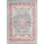 Verona Vintage Persian Red 5 ft. x 8 ft. Area Rug