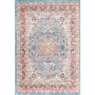 Verona Vintage Persian Red 8 ft. x 10 ft. Area Rug