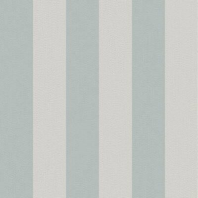 Water Silk Stripe Teal/Silver Wallpaper Sample