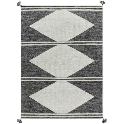 Maricopia Grey 2 ft. x 3 ft. Rectangle Diamond Indoor Area Rug