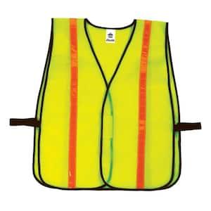 GLoWEAR Lime Hi-Vis Non-Certified Hi-Gloss Vest