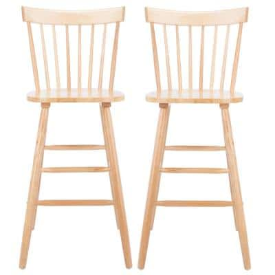 Providence 43.8 in. Natural Bar Stool (Set of 2)