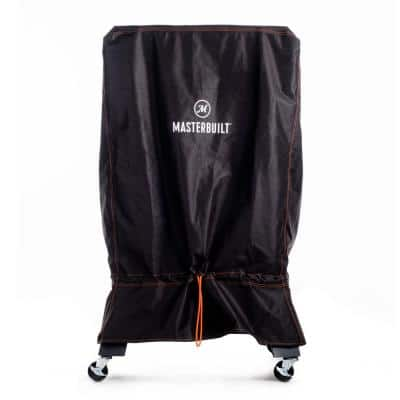 Digital Charcoal Smoker Cover in Black