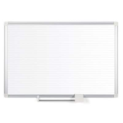 White/Silver Ruled Planning Board 48 in. x 36 in.