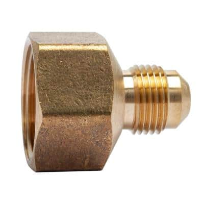 3/8 in. OD Flare x 3/4 in. FIP Brass Adapter Fitting (5-Pack)