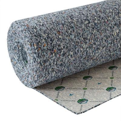 6 - 7/16 in. Thick 6 lb. Density Rebond Carpet Pad with Moisture Barrier