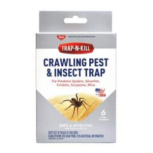 Crawling Pest and Insect Traps (6-Pack)
