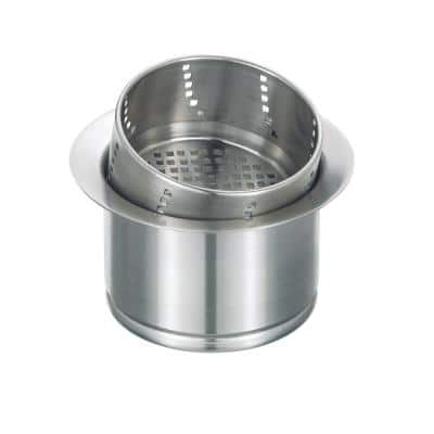 3.5 in. 3-in-1 Disposal Flange in Stainless