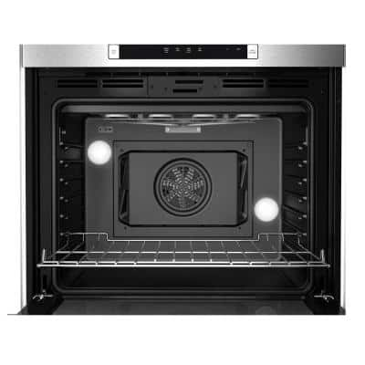 800 Series 30 in. Single Electric Wall Oven with European Convection Self-Cleaning in Stainless Steel