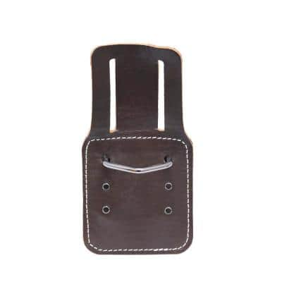 4.5 in. Leather Hammer Tool Holder for Tool Belts