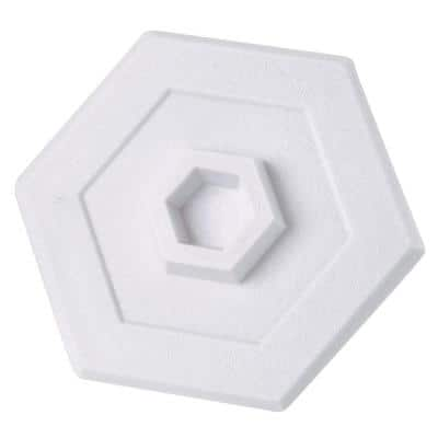 White Self Adhesive and Paintable Wall Fix with Shield