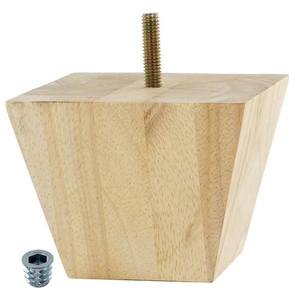 American Pro Decor 3 In X 7 8, Bun Feet For Furniture Home Depot