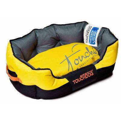 Large Sporty Yellow and Black Bed