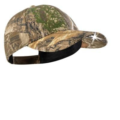 POWERCAP 2.0 LED Headlamp Hat High Output Ultra-Bright Hands-Free LED Lighted Battery Powered Cap