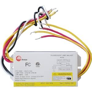 120-Volt 5.13 in. Electronic Ballast 2-PLC 13-Watt Lamps