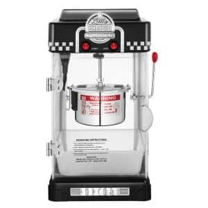 Little Bambino 2.5 oz. Black Countertop Popcorn Machine