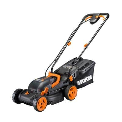 POWER SHARE 40-Volt 14 in. Cordless Battery Walk Behind Mower with Mulching & Intellicut, (Battery & Charger Included)