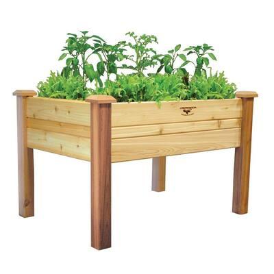 34 in. x 48 in. x 32 in. Raised Garden Bed