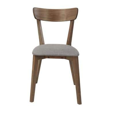 Arcade Walnut Upholstered Dining Chairs (2/ctn)