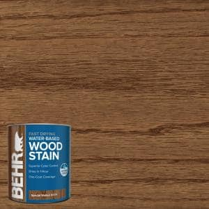 1 qt. #TIS-514 Special Walnut Transparent Water-Based Fast Drying Interior Wood Stain