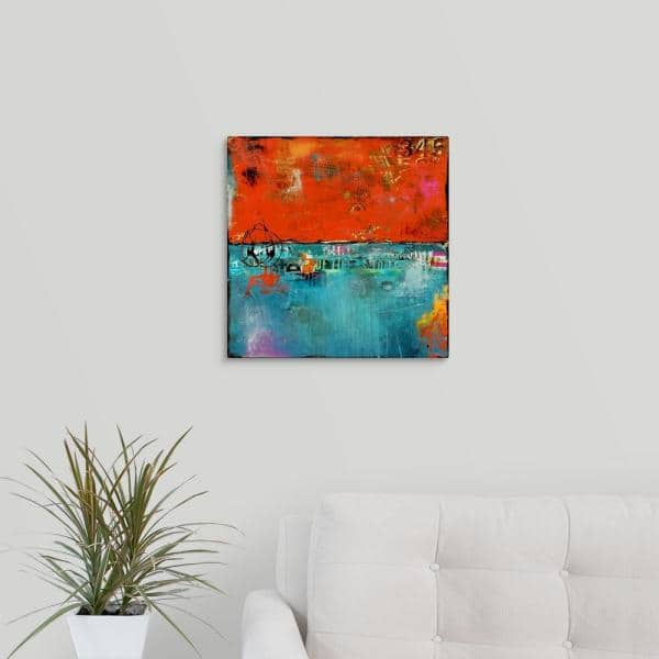 Greatbigcanvas Urban Expressions Ii By Erin Ashley Canvas Wall Art 2381944 24 16x16 The Home Depot