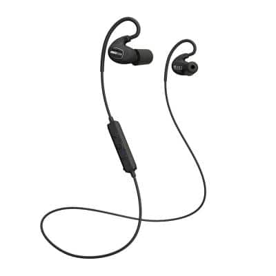 PRO Bluetooth Hearing Protection Earbuds, 27 dB Noise Reduction Rating, OSHA Compliant Ear Protection for Work (Black)
