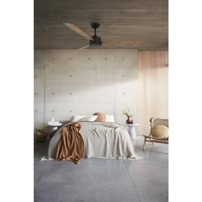Climate III 52 in. Oil Rubbed Bronze and Dark Koa DC Ceiling Fan